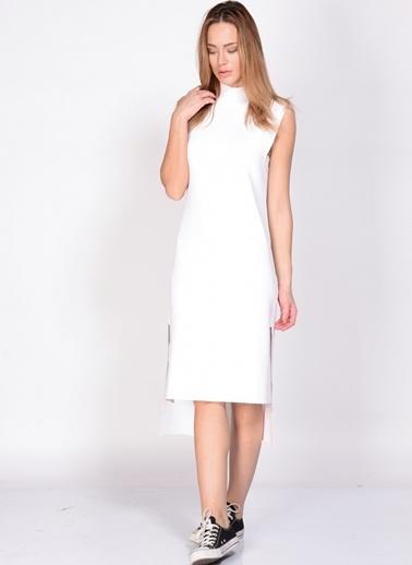 Adpt Elbise Beyaz